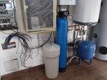 Odstranění manganu a tvrdosti vody filtrem A60EXtreme-K a odstranění bakterií UV LUXE 12- Mníšek pod