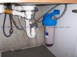 """Změkčení vody změkčovacím filtrem A 30 K Slim Maxi G1"""" a Anex filtr do kuchyňské linky - Plaňany"""