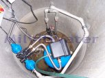 Odstranění manganu filtrem A 60 P 300-Políkno