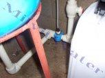 """Úprava vody odželezňovacím a odmanganovacím filtrem A 35 D G1"""" s dávkovacím čerpadlem - Damírov"""