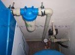 Změkčení vody změkčovacím filtrem A 35 K v kabinetovém provedení - Městec Králové