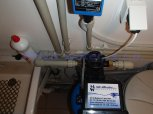 Snížení tvrdosti vody filtrem A35K standard-Zdiby
