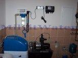 Změkčení vody změkčovacím filtrem A35K v kabinetu+UV lampa-Hluboký Důl