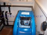 Změkčení vody změkčovacím filtrem A 35 K v kabinetu-Čtyřkoly u Čerčan