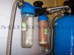 Odstranění železa, manganu a bakterií filtrem A100D + ET-Lvová
