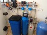 Odstranění železa, manganu a tvrdosti vody filtrem A35EXtreme a odstranění bakterií ET-Dobřichov