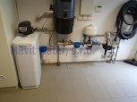 Změkčení vody a odstranění drobného železa filtrem A 35 K v kabinetovém provedení-Vysoká nad Labem