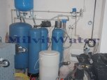 Změkčení vody dvojitým filtrem DUO A 100 K a odželeznění vody filtrem A 100 MTM - Zásmuky