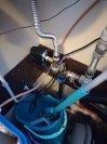 """Změkčení a odželeznění filtrem A35K G1""""+ odstranění bakterií dávkovacím čerpadlem impulsním-Býchory"""