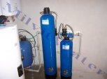 """Odstranění železa a manganu poloautomatickým filtrem PA 60 D G1""""+ET+ zvýšení tvrdosti vody - Chrast"""