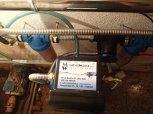 Zvýšení pH a odstranění bakterií filtrem A35pH a UV LUXE 12-Hořetice