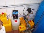 Odstranění železa a manganu filtrem A 195 D + ET - Třeboň