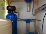 Změkčení vody filtrem A35K standard a odstranění bakterií UV lampou SC12-Lhotky