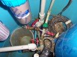 Odstranění kalu ze studniční vody - Lhotky u Malotic
