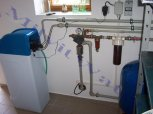 Odželeznění a změkčení vody změkčovacím filtrem A 35 K v kabinetovém provedení - Jičín