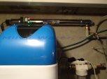 Snížení tvrdosti vody, dusičnanů, chloridů, konduktivity a odstranění bakterií filtrem A30K+UV LUXE