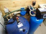 Odstranění železa a manganu filtrem A35D a odstranění bakterií dávkovacím čerpadlem ET 02/06-Čeladná