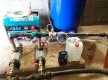 Úprava vody filtrační sestavou A 260 D+ET+A 150 UH - Křesetice