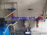 Odstranění železa, manganu, zákalu a bakterií filtry A100P a A35EXtreme+ET-Hošťalovice
