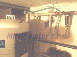 Odstranění tvrdosti, železa a amonných iontů filtrem A100 EXtreme-Veltruby