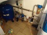 Odstranění železa, manganu a tvrdosti vody filtrem A35EXtreme kabinet-Třebětice