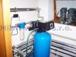 Změkčení vody a odstranění manganu filtrem A60EXtreme a odstranění bakterií UV lampou SC12-Kolín,Zál