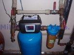 Odstranění železa a manganu filtrem A35P300-Všeruby u Plzně
