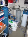 Změkčení vody změkčovacím filtrem A 35 K kabinet a odstranění manganu a železa filtrem A 60 MTM - Hr