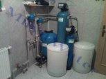 """Změkčení a odželeznění vody filtrem A 60 K WG 5600 G1"""" a odstranění dusičnanů filtrem A 25 AN - Hal"""