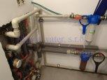 Změkčení vody změkčovacím filtrem A35K kabinet-Doubravčice